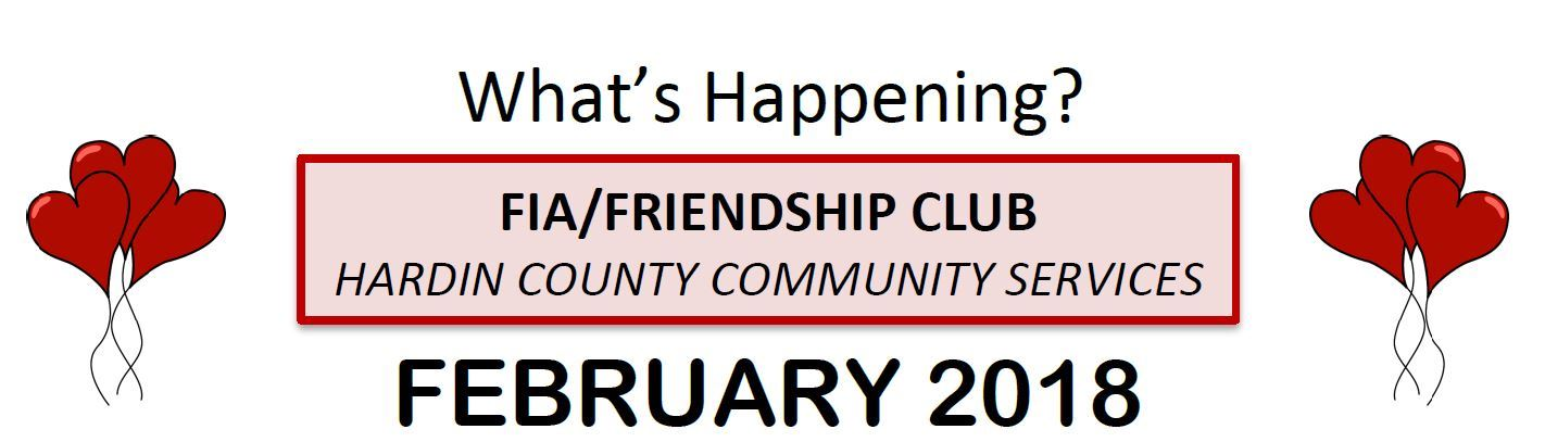 Feb Friendship Club