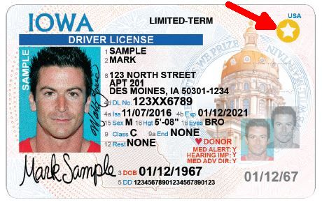 Iowa Real ID