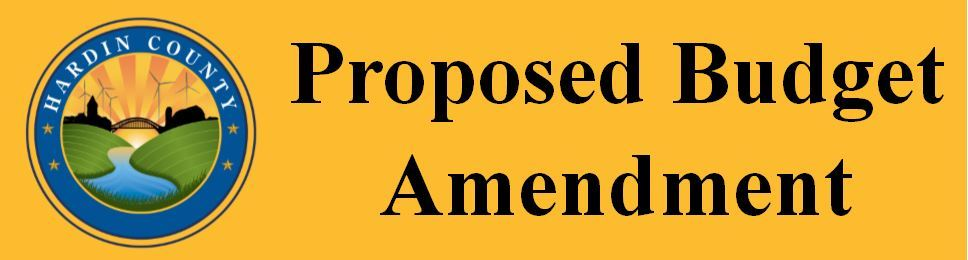 Proposed Budget Amendment