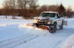 Snow Removal Pickup Truck