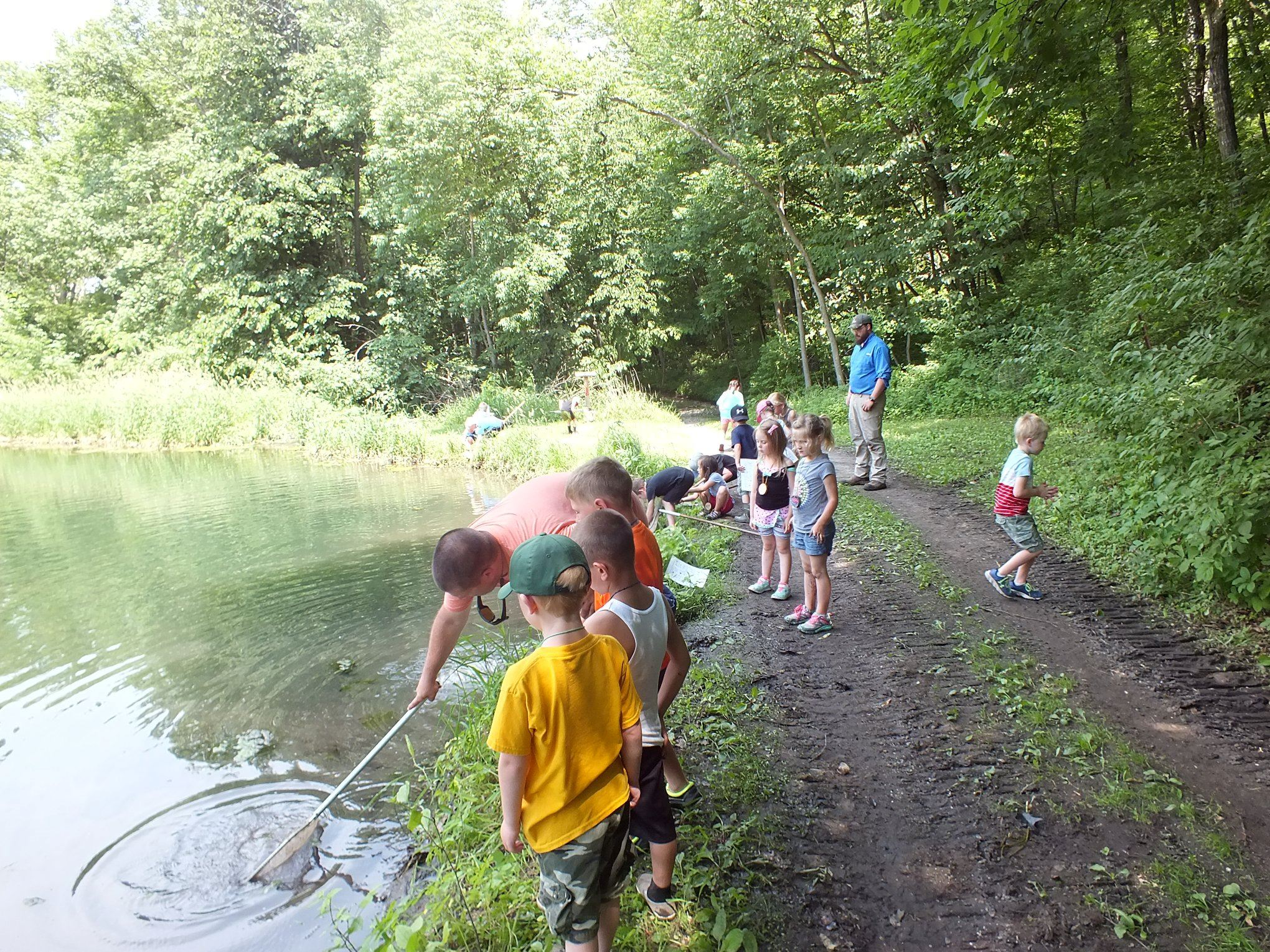 Calkins Summer Camp Pond