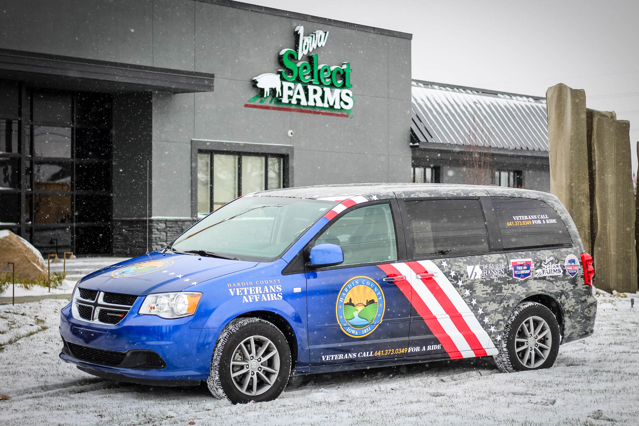 Veterans Affairs Van