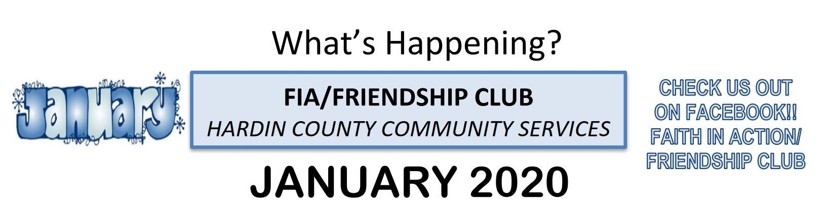 2020-01 Friendship Club