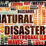 Natural Disasters Word Wall